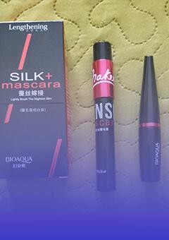 Тушь для ресниц BIOAQUA Silk + Mascara 2 в 1