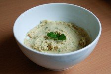 Mint-Lime Hummus