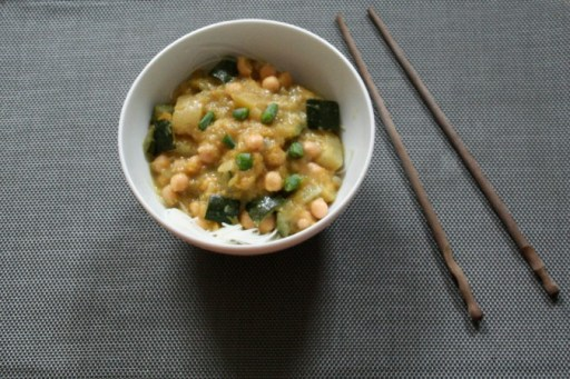 Pumpkin - Chickpea Curry