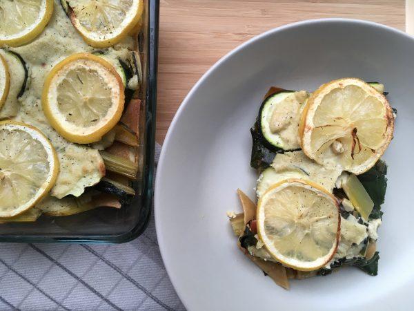 Lasagne met snijbiet en citroen | Julienne