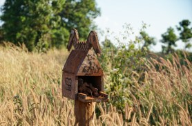 Spirit house - it is important to give them a home