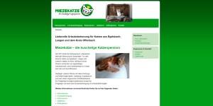 Internetseite-Miezekatze