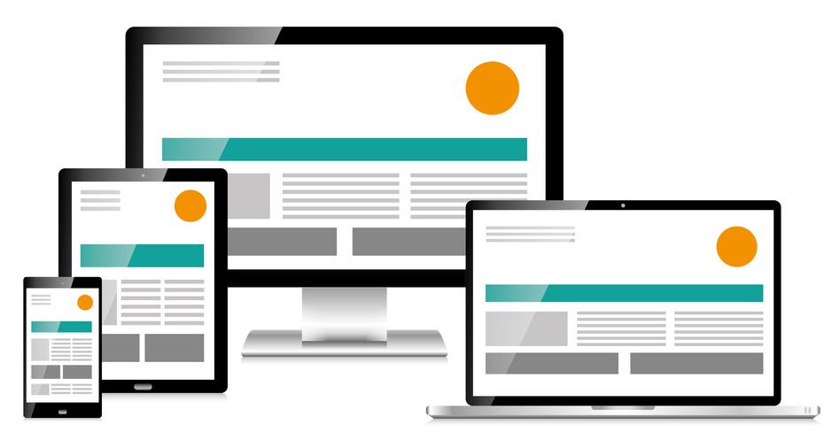 responsive Webdesign garantiert optimale Lesbarkeit auf verschiedenen Ausgabegeräten