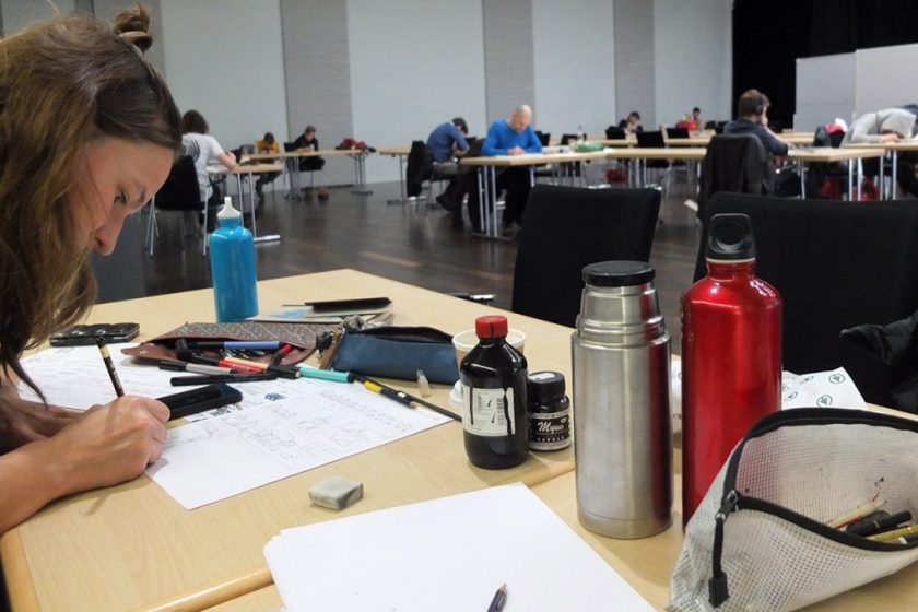 9 to 5 Workshop | Nextcomic Festival 2017 | Silke Müller | Tine Schulz