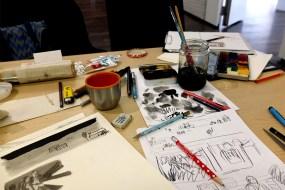 9 to 5 Workshop | Nextcomic Festival 2017 | Silke Müller