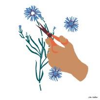 "Wandkalender ""Be good"", Illustration, Silke Müller, Linz"