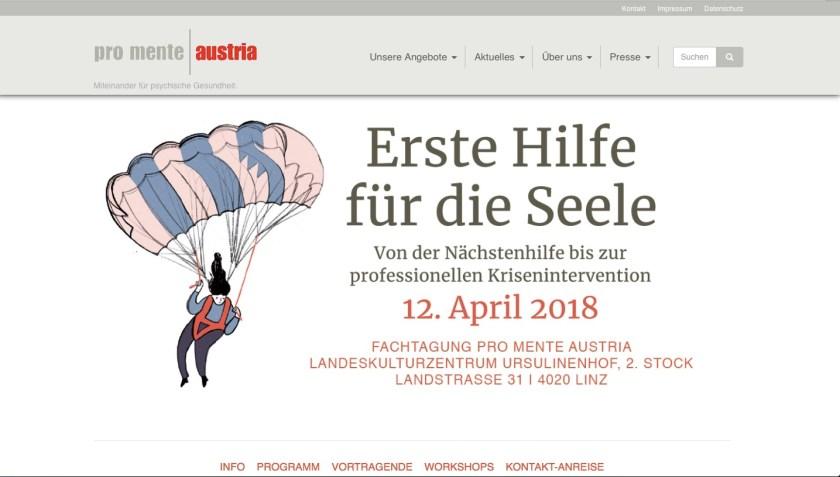 Erste Hilfe für die Seele -pro mente, Illustration Silke Müller, Linz