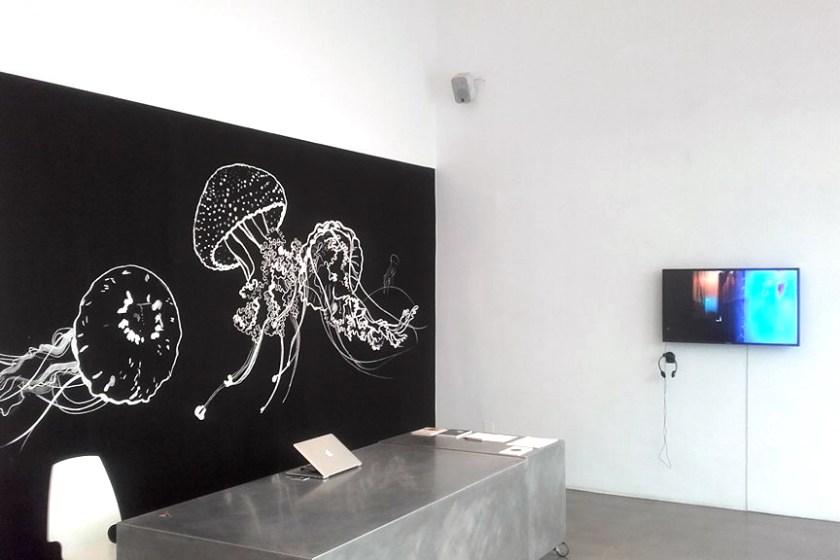 Medusa Bar Particles, Time's Up, Bildraum 7, Turntondocklands,   Wien   Illustration: Silke Müller   Foto: Esther Mlenek