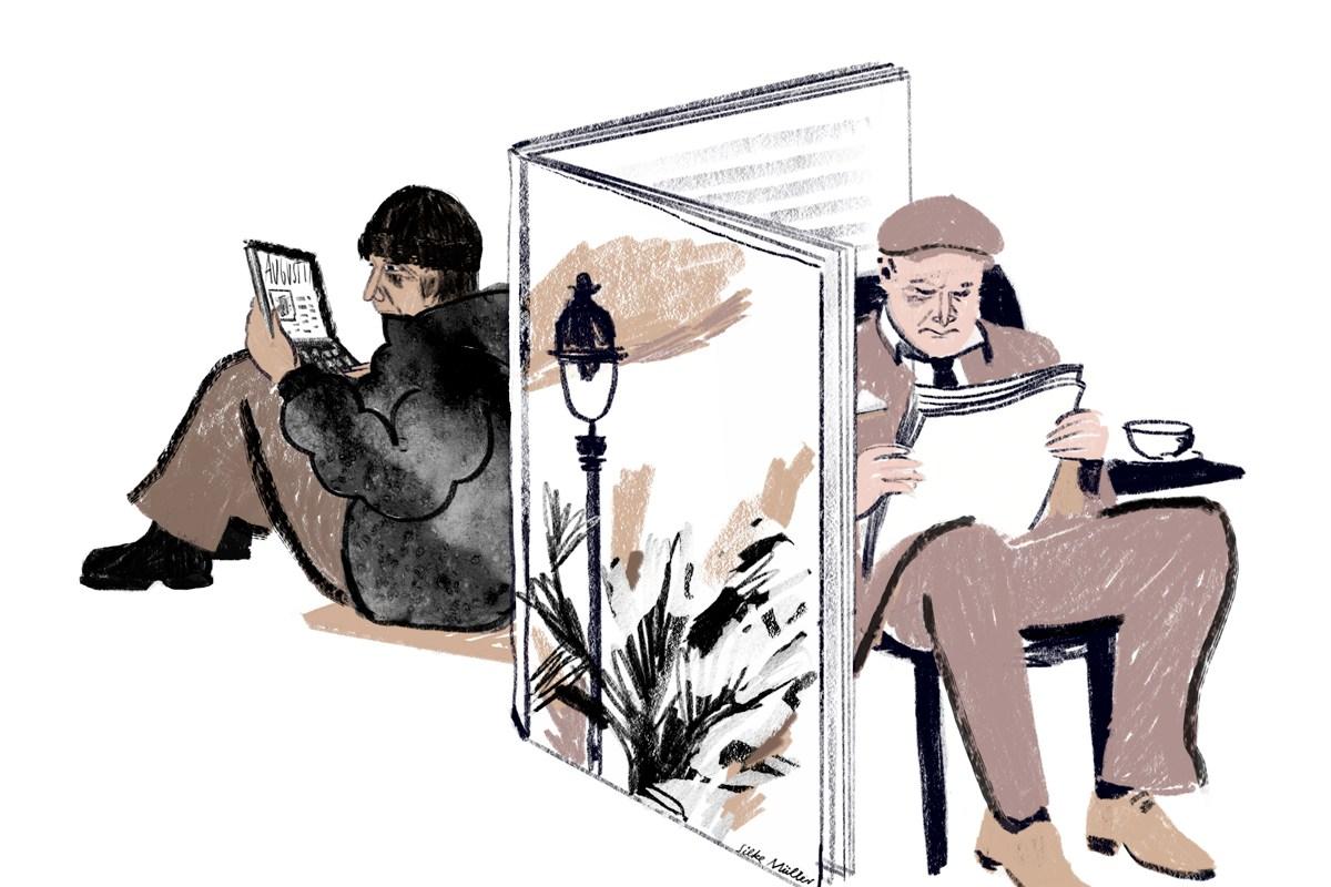 Tagebuch eines Obdachlosen, Boulevardzeitung Augustin