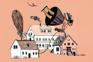 """Zeichen Workshop """"home stories - Sintstraße"""" Silke Müller"""