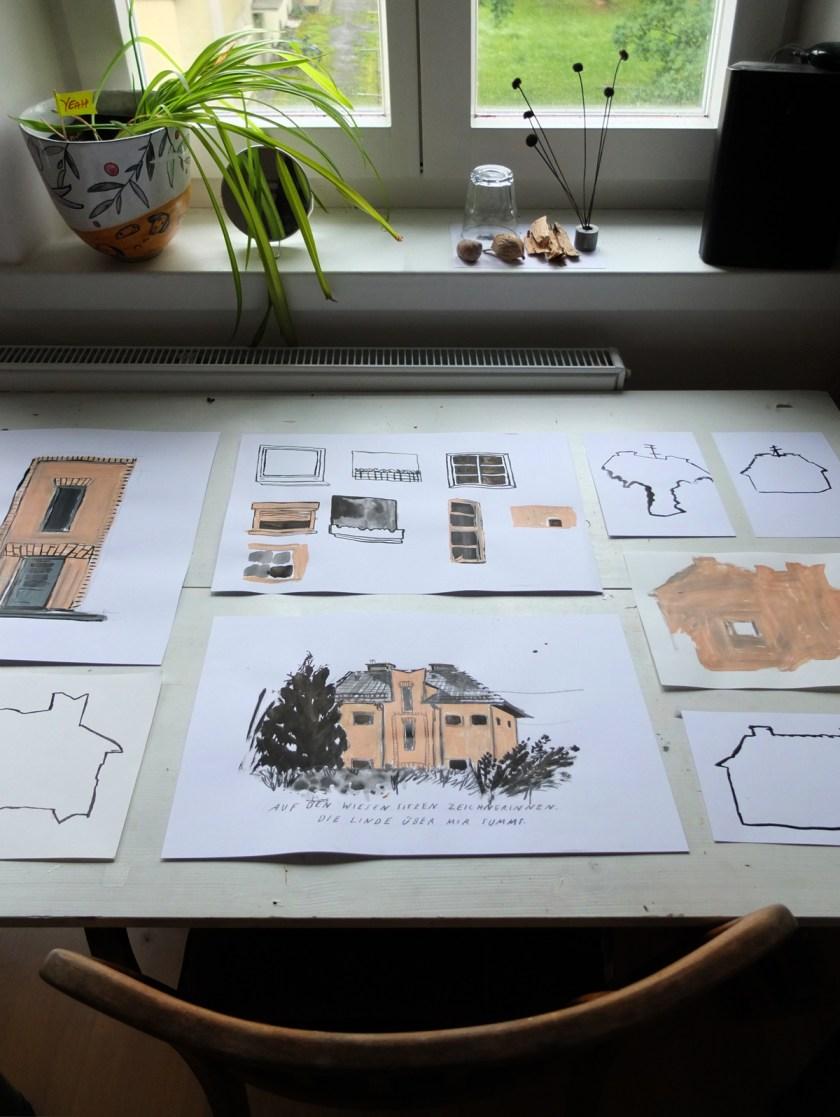"Workshop ""home stories"" | Silke Müller | Sintstraße-Linz-Gartenstadt"
