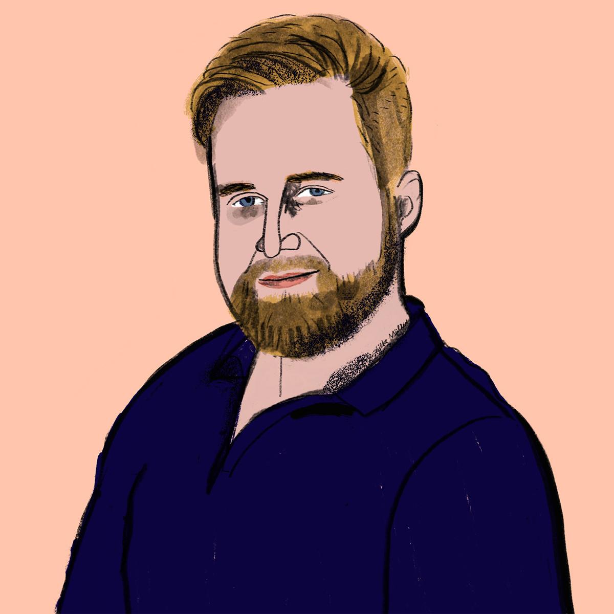 JakeGill | Illustration Silke Müller