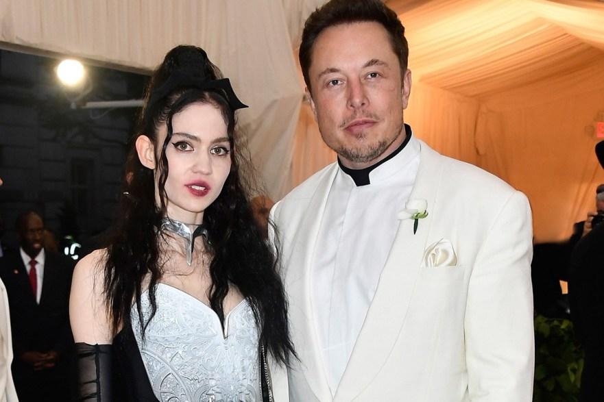 Elon Must og Grimes har fått barn
