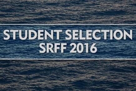 Student Selection SRFF 2016
