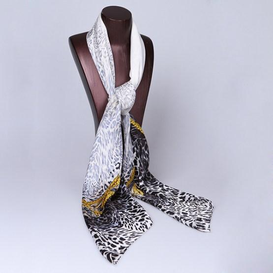120cm Silk Scarf-Square Silk Scarf-Wholesale Scarfs-HAQ004A