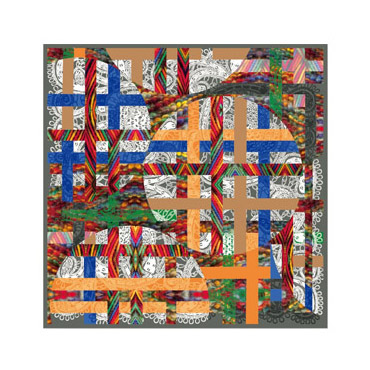 140cm Silk Scarf-Square Silk Scarf-Wholesale Scarfs-AAS007A