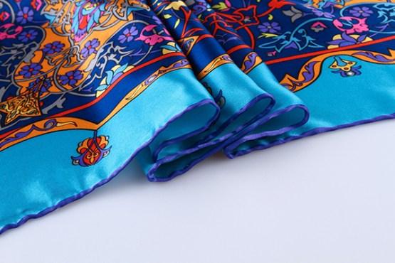 90cm Silk Scarf-Square Silk Scarf-Wholesale Scarfs-HA624A3