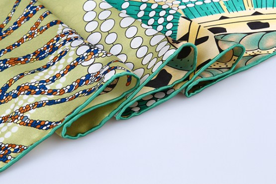 90cm Silk Scarf-Square Silk Scarf-Wholesale Scarfs-HA629A3