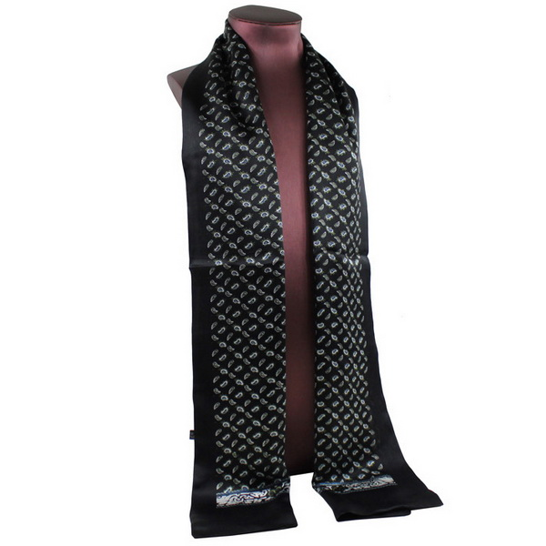 Mens Silk Scarf-Double Layers MSSD011C