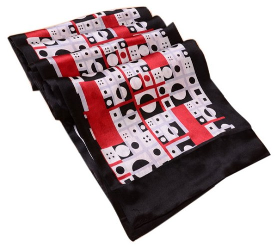 Mens Silk Scarf-Double Layers MSSD014C
