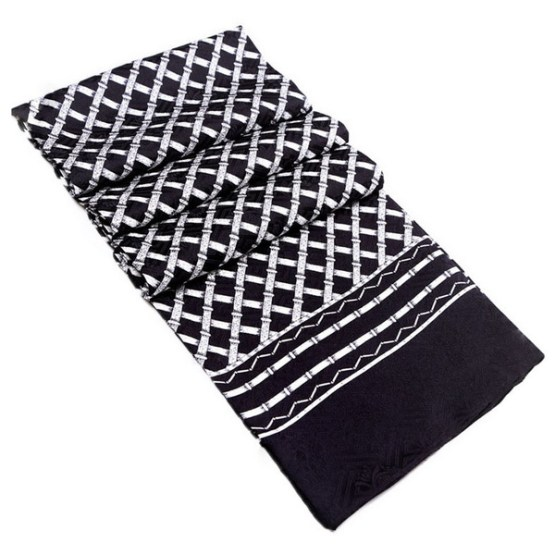 Mens Silk Scarf-Double Layers MSSD019A