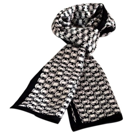 Mens Silk Scarf-Double Layers MSSD02