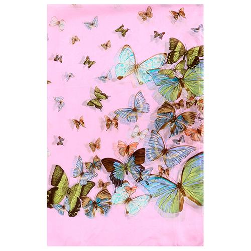 Silk Scarf-Butterfly Scarf-Silk PAJ Scarf SSBP04A1