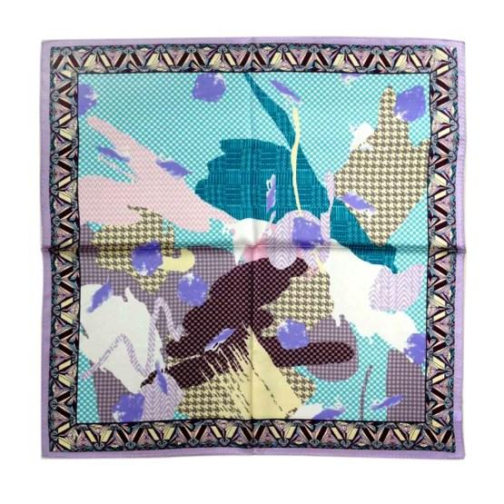 Square Silk Scarf-55CM Silk Scarf-Silk Scarf China- HHS03A