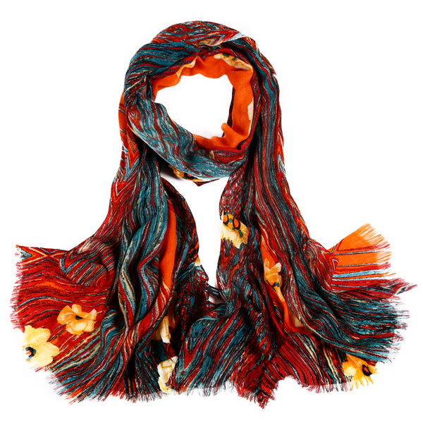 Wool Scarf-Digital Wool Scarf-DWS01B
