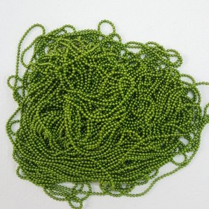 parrot green ball chain