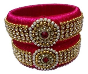 dark pink bangles