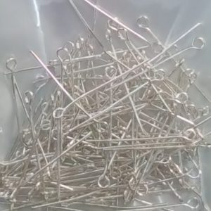 silver eye pins