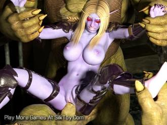 The World of Porncraft Whorelords of Draenor Game_10-min