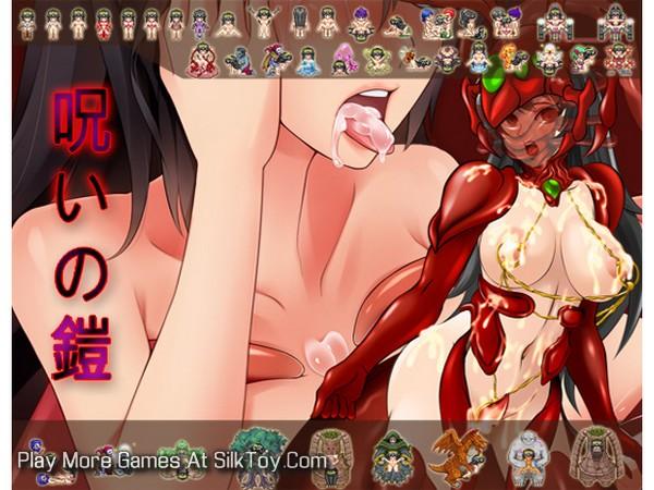 Cursed Armor Hentai Big tits Slut Game_4