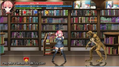 FIGHTING GIRL SAKURA-R Hentai Monster Porn game_2