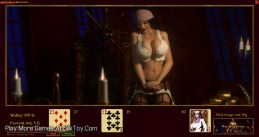 High Stakes Blackjack With Jessenia 3d porn_3