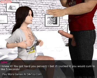 I Love Daddy Teen Sex With Step Father 3D_23