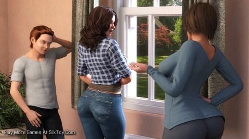 Visiting Aunt Sara Porn Game_10