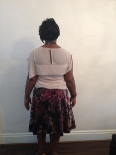 Glamorous weave style. (Back)