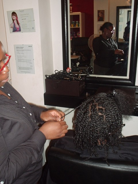 Academy Course - Natural Twist Style by Student