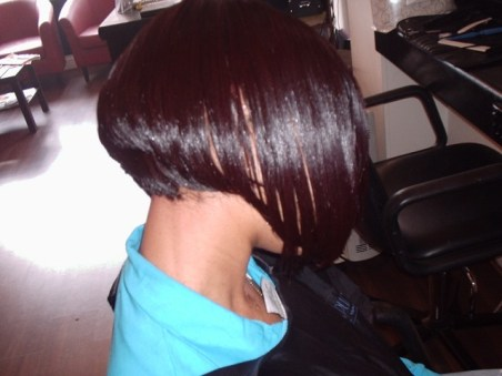 Rhiana Style Cut - After