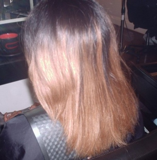 Weave Cut (Before)