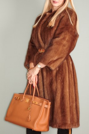 My altered mink fur coat