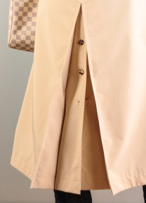 Back of the trench coat, Escada