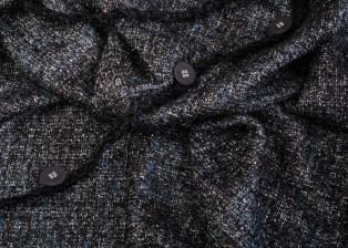 Chanel dark blue boucle with lurex