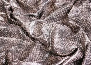 Chanel silver wool