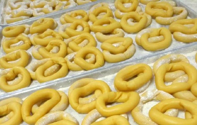 dolci tipici di Verona brassadele broè preparazione