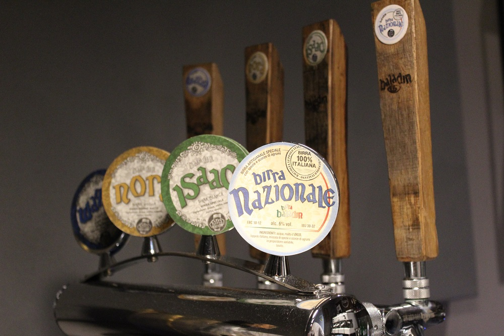 birra Baladin spine per spillare al bar