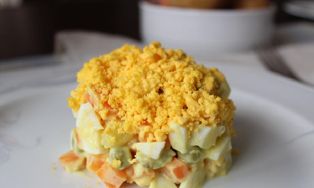 insalata russa come preparare a casa una ricetta mondiale Silla e Pepe