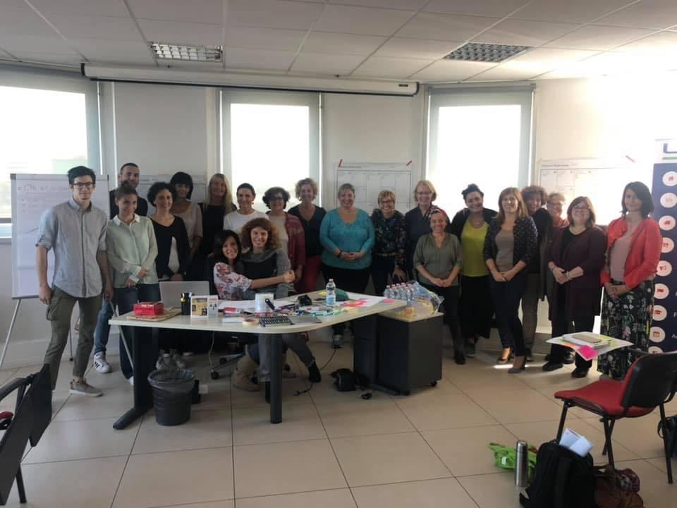 foto di gruppo partecipanti Blog in rete 2019-2020